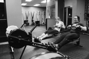 Rowing is one of my favorite movements to program for my ladies. It has a high demand in terms of musculature and is a relatively low impact activity.