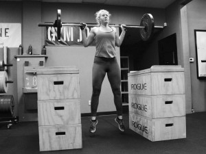 This concept of performing Jump Squats off of the jerk blocks is pretty cool. You can add plenty of resistance to the movement and focus on accelerating through the jump without the adverse effect of the weight crashing down on your joints.