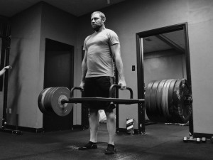 You can either let anger and other misplaced energies tear you up, or you can channel it into something productive... Like picking up lots of weight.
