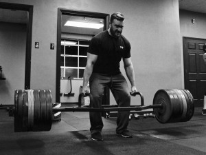 Cory pulled 560 tonight which is a stark contrast to the 405# he pulled last time he maxed on the Hex Bar in the garage days.