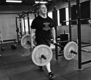 We've been using the Stubby Axle Bars for farmer carries to improve grip strength. When I was preparing for the record breaker's strongman meet in December, this was a heavy part of my supplemental work.