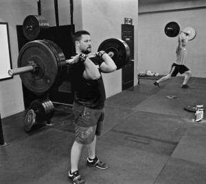 Stu and CJ completed two heavy barbell complexes every minute for 10 minutes. If you want to get strong, stacking exercises on top of each other is a fantastic way to get there.