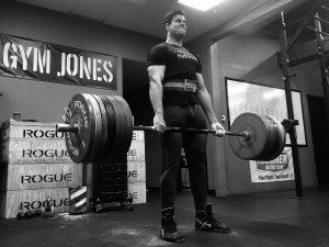 John just continues to improve each week. Today, he cranked out a deadlift PR at 552#.