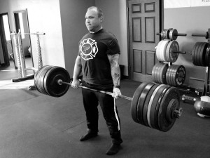Toby pulled 355# for a New PR on deadlift. He's seen steady improvement over the past few weeks.