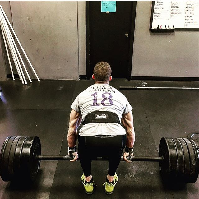 Lift for Lauren Day. Heavy Hearts & Heavy Weights. New Axle Clean & Press PR of 286 # on the Non-Knurled Axle for @horsepowerandbarbells. We love and miss you @lheryford_! // // ? Dan Erickson