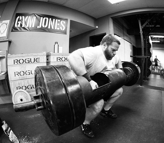 "Work Sets above 80% are where most of the ""gains"" are made from a strength standpoint. It's not always about simply gaining more muscle mass. Heavy sets increase the efficiency of rate coding, muscular coordination, agonist/ antagonist muscular timing, and technique of the lift itself. // // ? @horsepowerandbarbells"