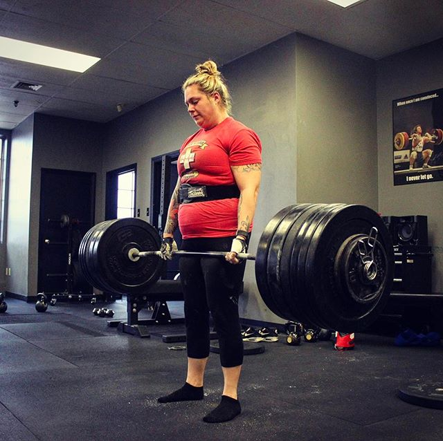 @kotraba with another Post MS Diagnosis & Lifetime PR on deadlift of 335 #. No weak ass excuses here. // // ? @horsepowerandbarbells