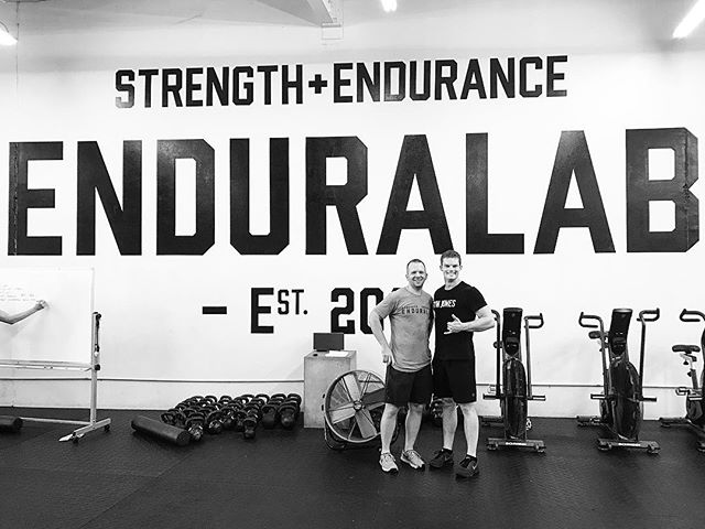 This morning, I had the pleasure of dropping into @enduralab in Fort Worth, Texas. @coachhargrave & @isishargrave run a first class facility. If you live in the Fort Worth area, head over to their gym and check it out. We are proud to have them in the @gymjonessalvation family. // // 📸 @roamingdruggist