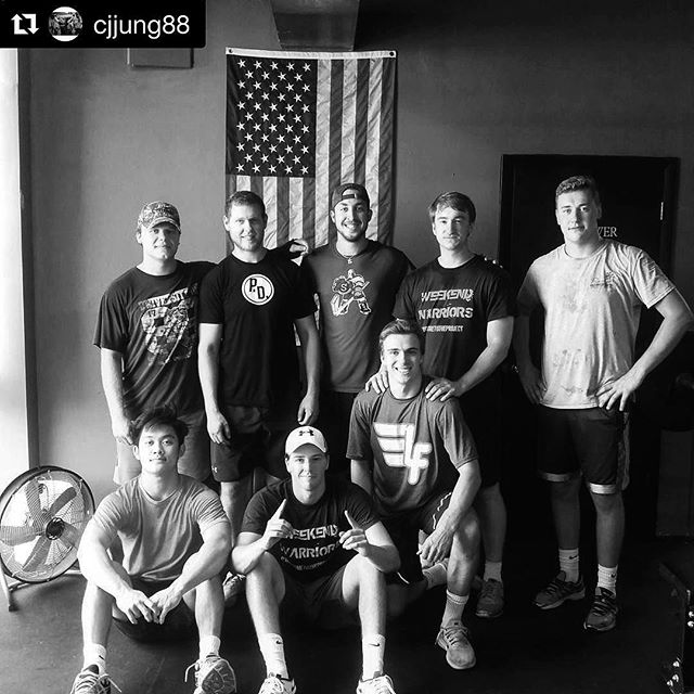 @cjjung88 and his summer crew. He works incredibly hard and invests a whole lot into these guys from May to August. We are so proud to have Coach and all these young players as a part of The Project. // Repost @cjjung88 ・・・ boys. As the summer winds down, the men go back to their respective teams. Missing some men from the group pic but a great hockey clan that works hard, has fun, and makes gainzzz. // // 📸 @cjjung88