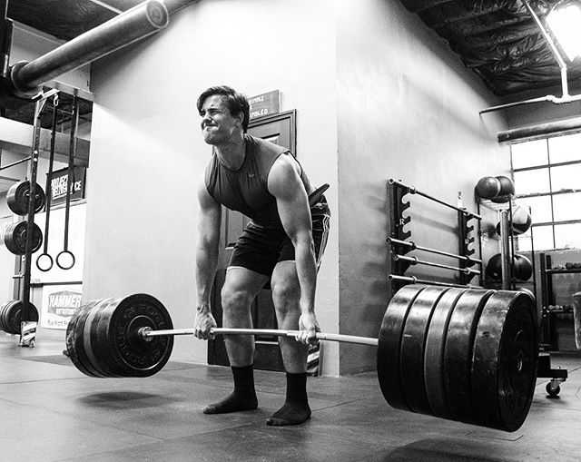 Big John is in Season for Rugby but we're still working that Magic and keeping him strong until the weather cools off and we break some records. // // 📸 @horsepowerandbarbells