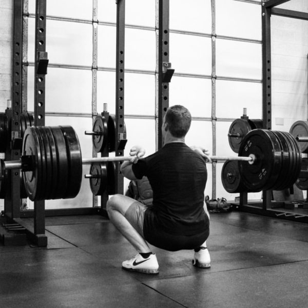 Gym Jones Front Squat