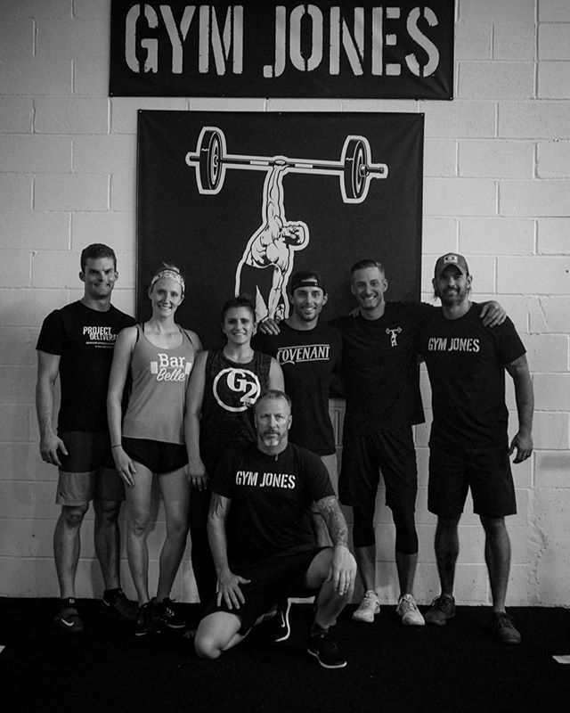 It was a great weekend as we hosted a small group for the @gymjonessalvation Intermediate Seminar in preparation for the Advanced Seminar next month. We saw some great intensity, some records broken, and put down some knowledge that made everyone, including the instructors, better. //