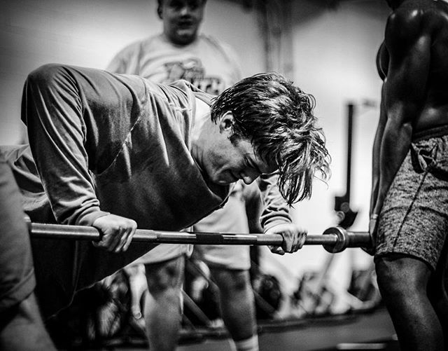 Every game, every test is an opportunity you'll never get back. It's a chance to outperform your previous best effort or performance. Your opponent, the weight, or the clock is going to try to crush you at every point. So rise, and rise against, my friends. // // 📸 @horsepowerandbarbells