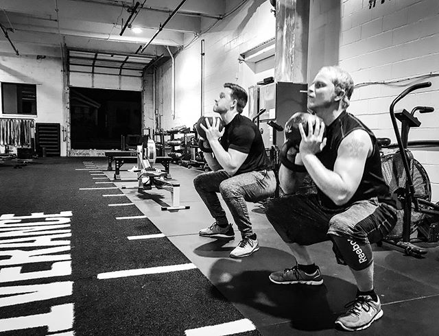 Football is a physical and violent sport. We specialize in preparing individuals for the rigors of competition. Squatting, Pushing, Pulling, Sprinting, and Hinge movements all contribute positively to performance. // // 📸 @horsepowerandbarbells